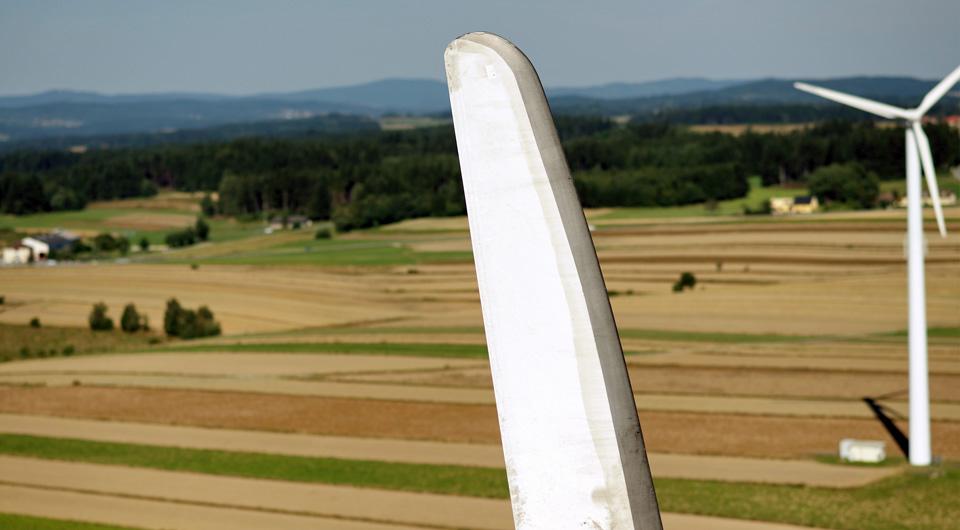 Rotor-Windrad