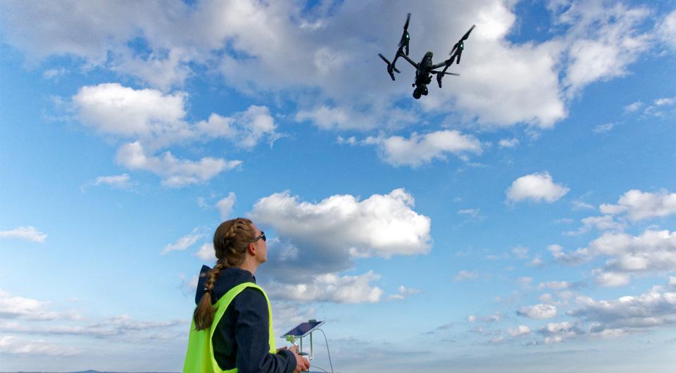 Praktische Ausbildung bei der Drohnenschulung in Kassel, Kenntnisnachweis oder sog. Drohnenführerschein